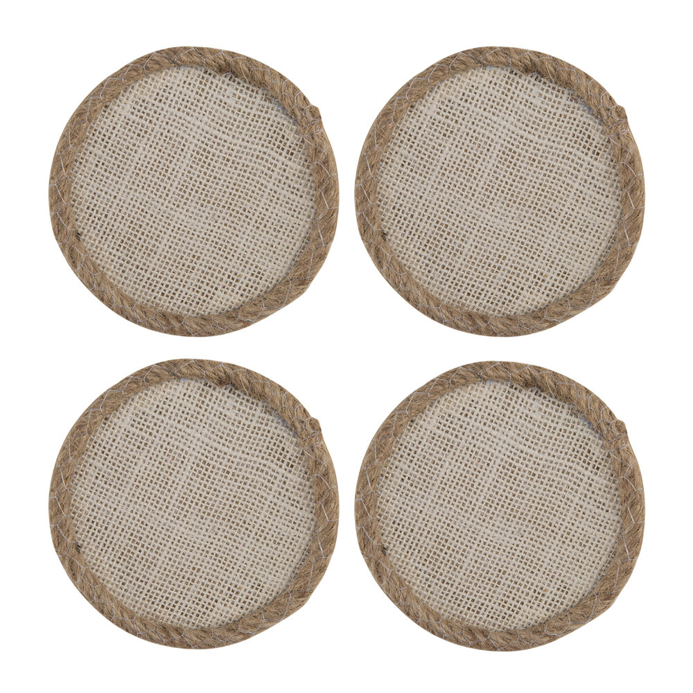 A by AMARA - Jute Coaster - Set of 4
