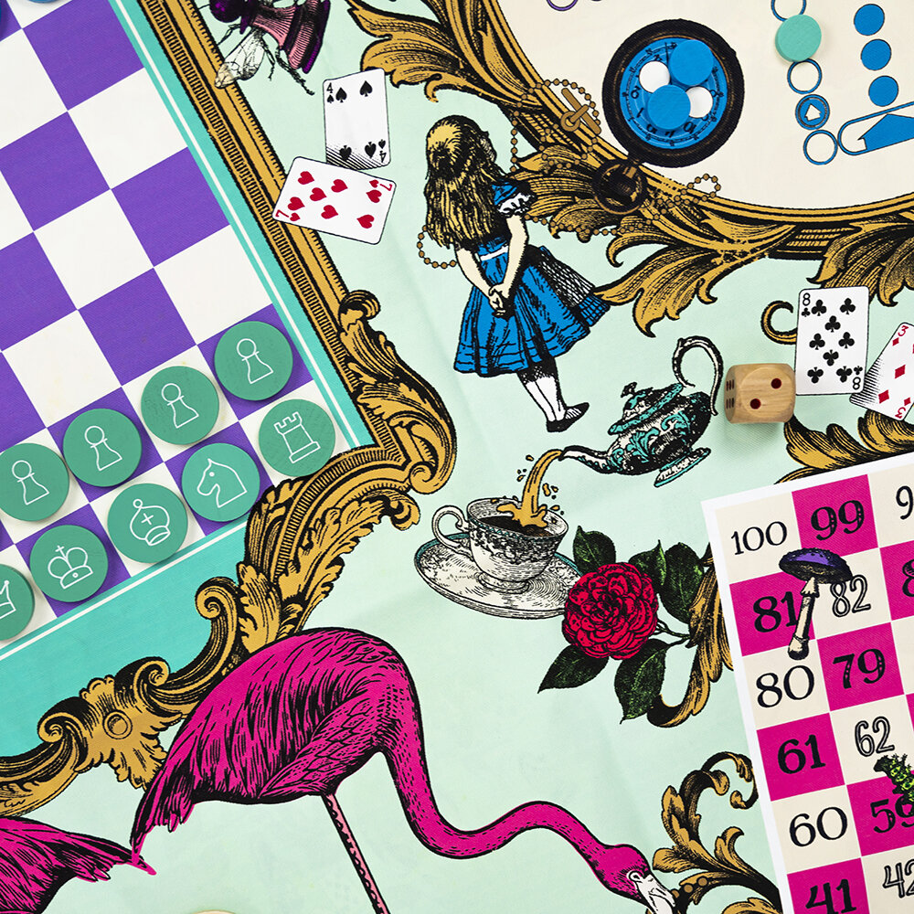 Professor Puzzle - Alice's Party Games Mat