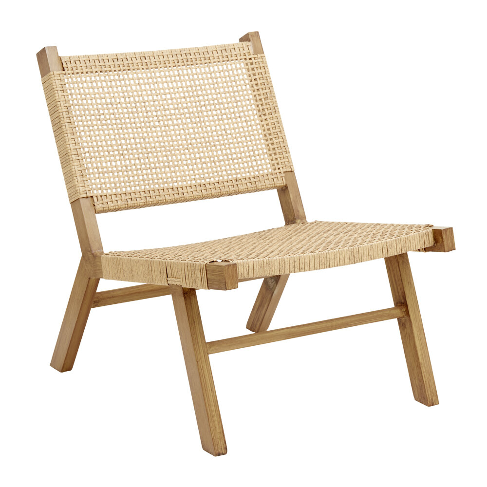 Nordal - Vasai Lounge Chair - Natural