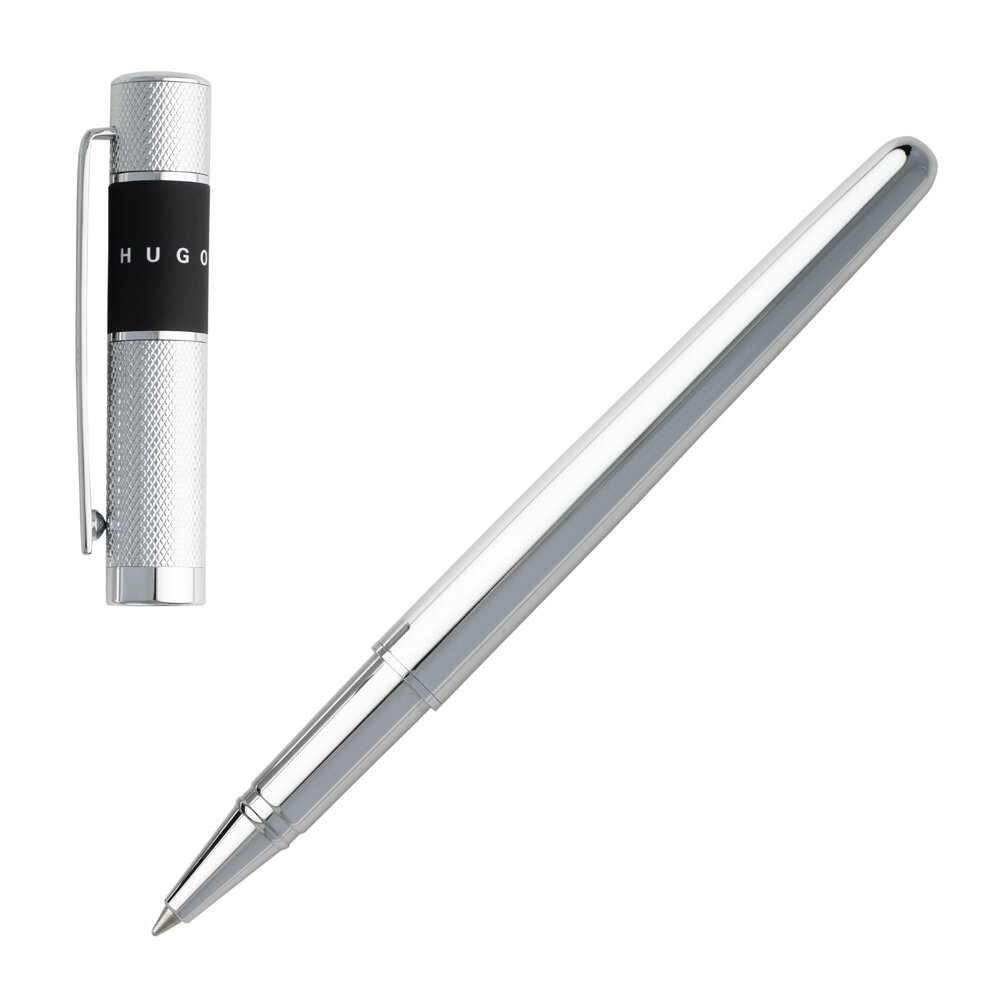 Hugo Boss - Ribbon Rollerball Pen - Chrome