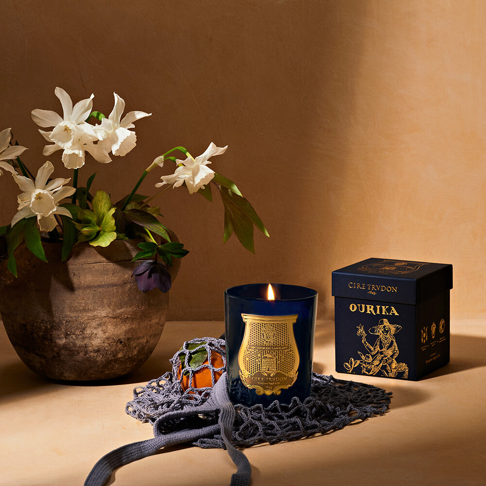 Cire Trudon - Les Belles Matieres Scented Candle - Ourika - 270g