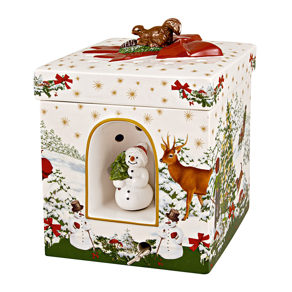 Villeroy  Boch - Christmas Toy's Gift Box - Christmas Tree - Square