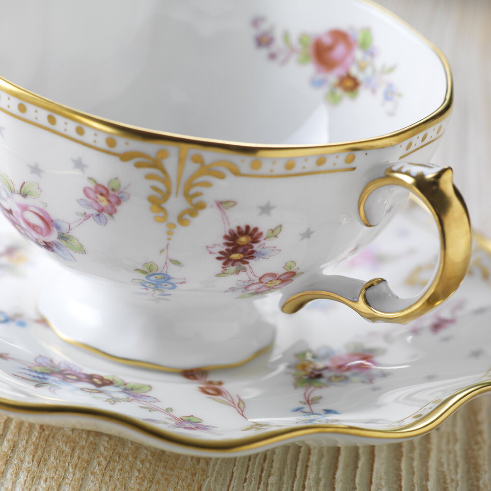 Royal Crown Derby - Royal Antionette Teacup