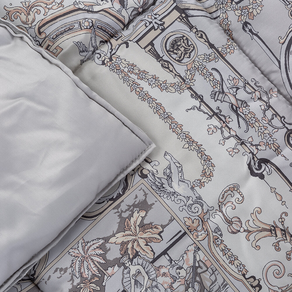 Etro - Agadir Medina Quilted Bedcover with Piping - 270x270cm - Beige