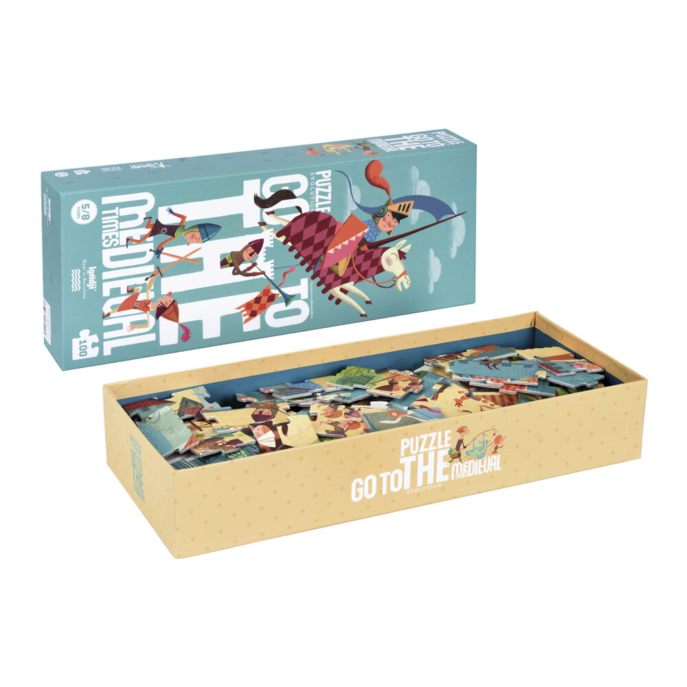 Londji - Go To The Medieval Times Puzzle