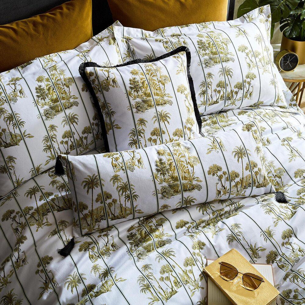 Ted Baker - Laurel Quilt Cover - Olive - Double