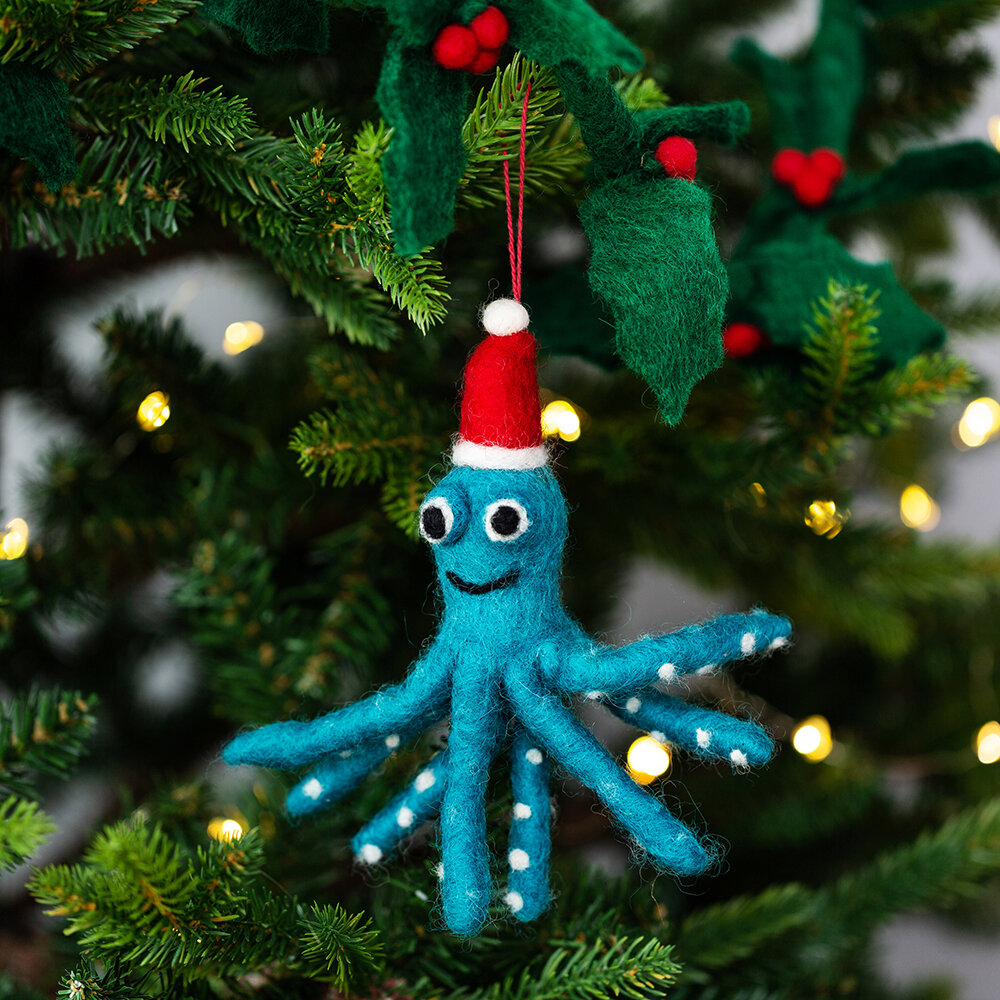 Felt So Good - Sealife Friends Tree Decoration - Set of 3