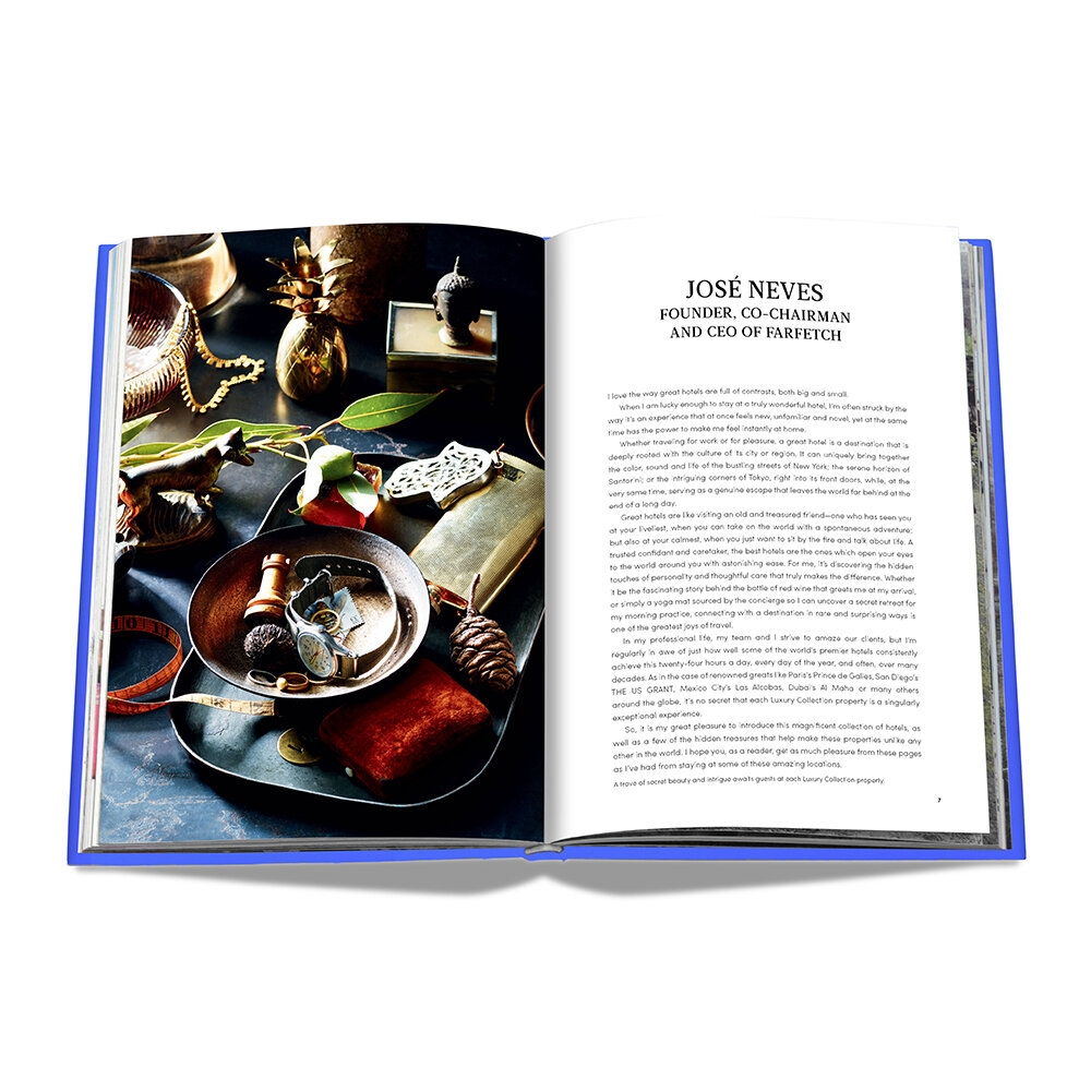 Assouline - The Luxury Collection: Hotel Secrets Book