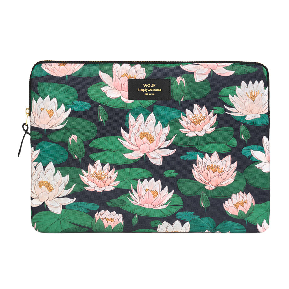 """Wouf - Nenuphares Laptop Case - 13"""""""