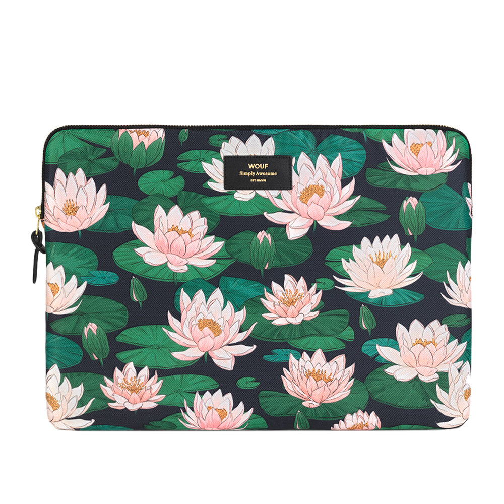 """Wouf - Nenuphares Laptop Case - 15"""""""