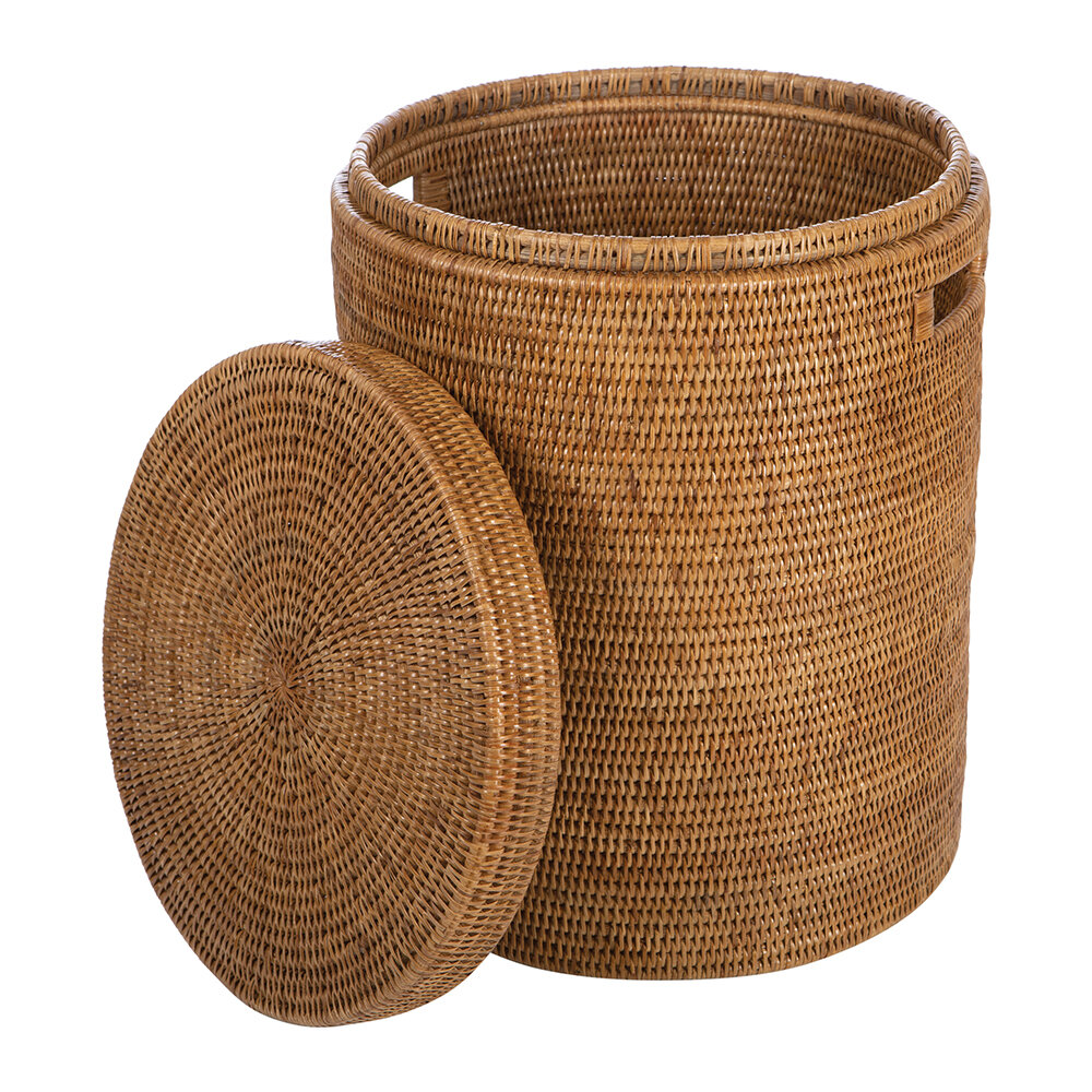 Global Explorer - Rattan Laundry Basket - Natural