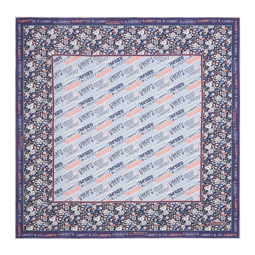 Liberty London - Liberty Scarf - Blue