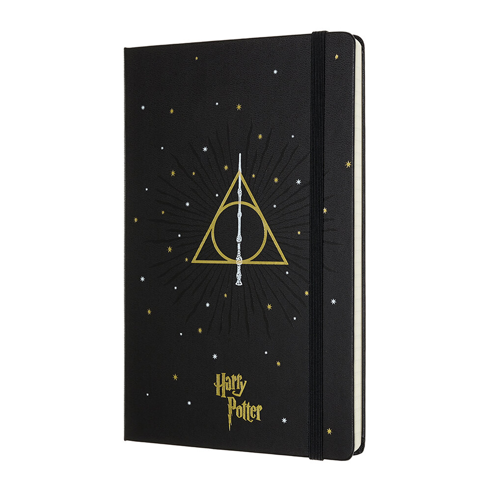 Moleskine - Limited Edition Harry Potter Notebook - Large - Black