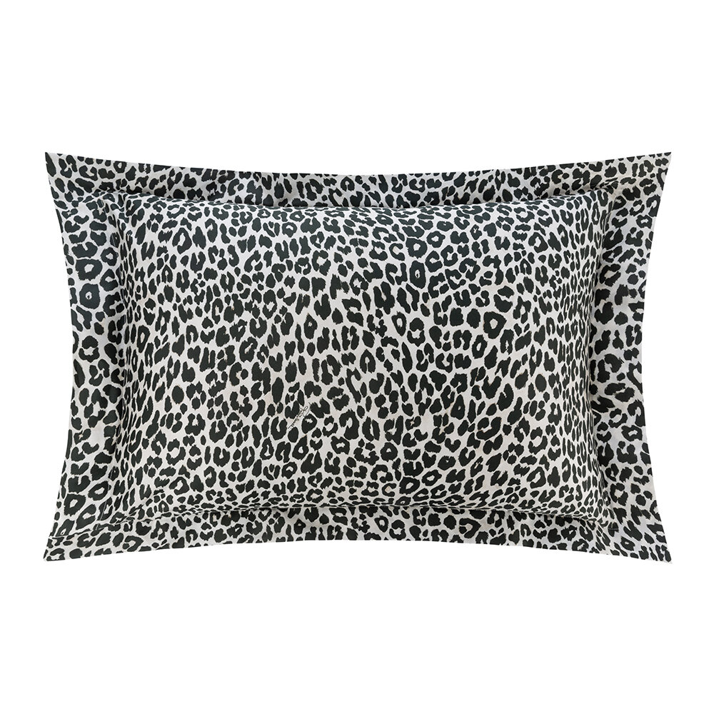 Roberto Cavalli - Bouquet Leopard Bed Set - Pink - Super King