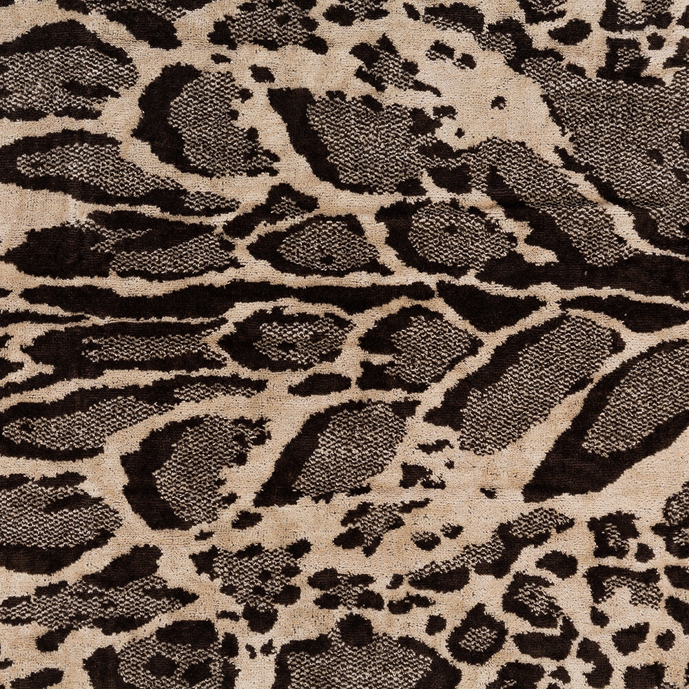 Roberto Cavalli - Linx Towel - Brown - Bath Sheet