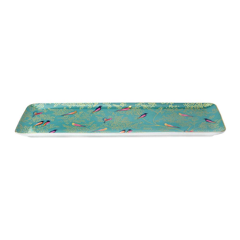 Sara Miller - Chelsea Collection Sandwich Tray - Green