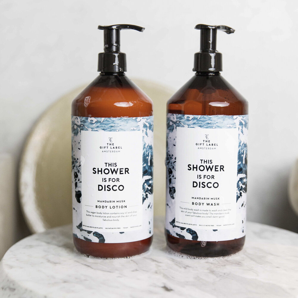 The Gift Label - Savon pour le Corps - The Shower is for Disco