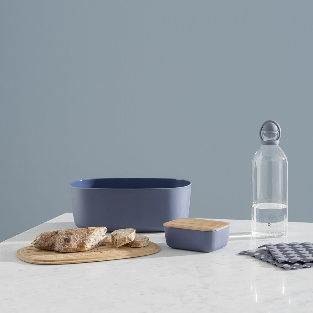 Stelton - Box-It Bread Bin - Dark Blue