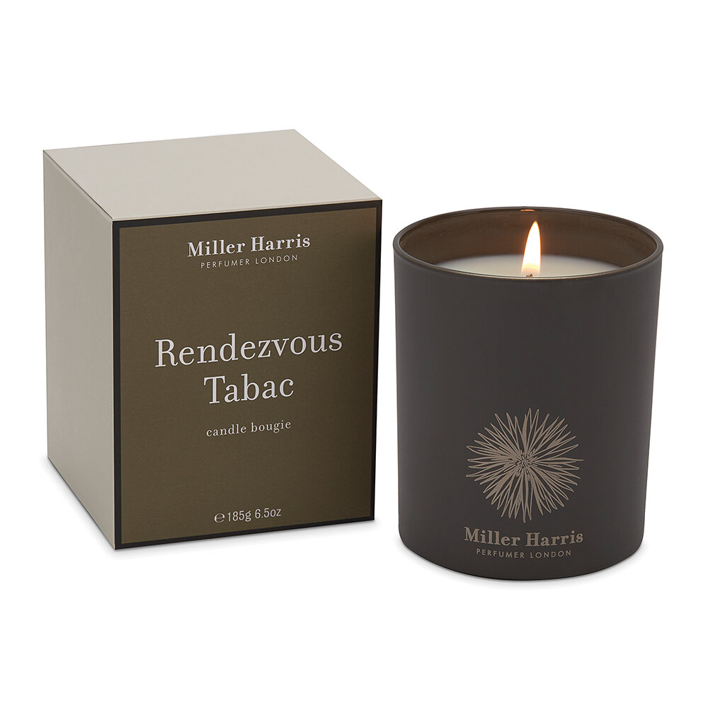 Miller Harris - Candle - 185g - Redezvous Tabac