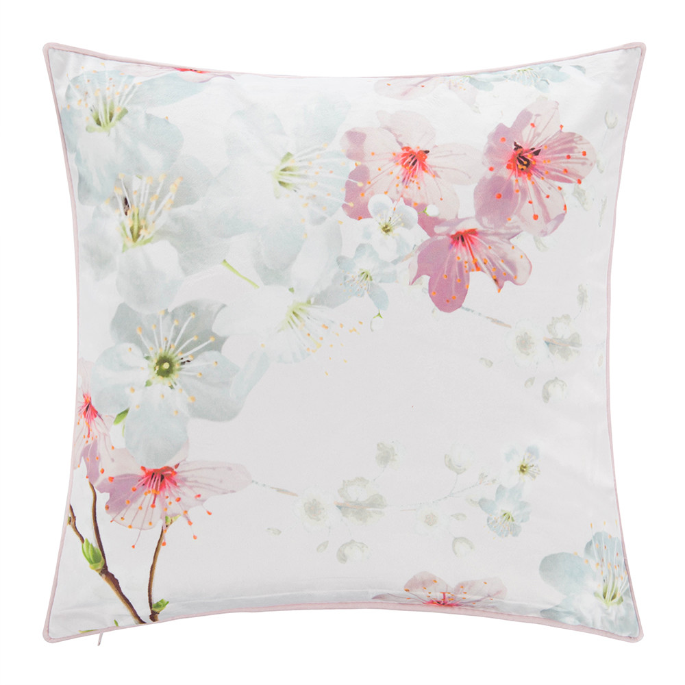 oriental blossom bed pillow 45x45cm