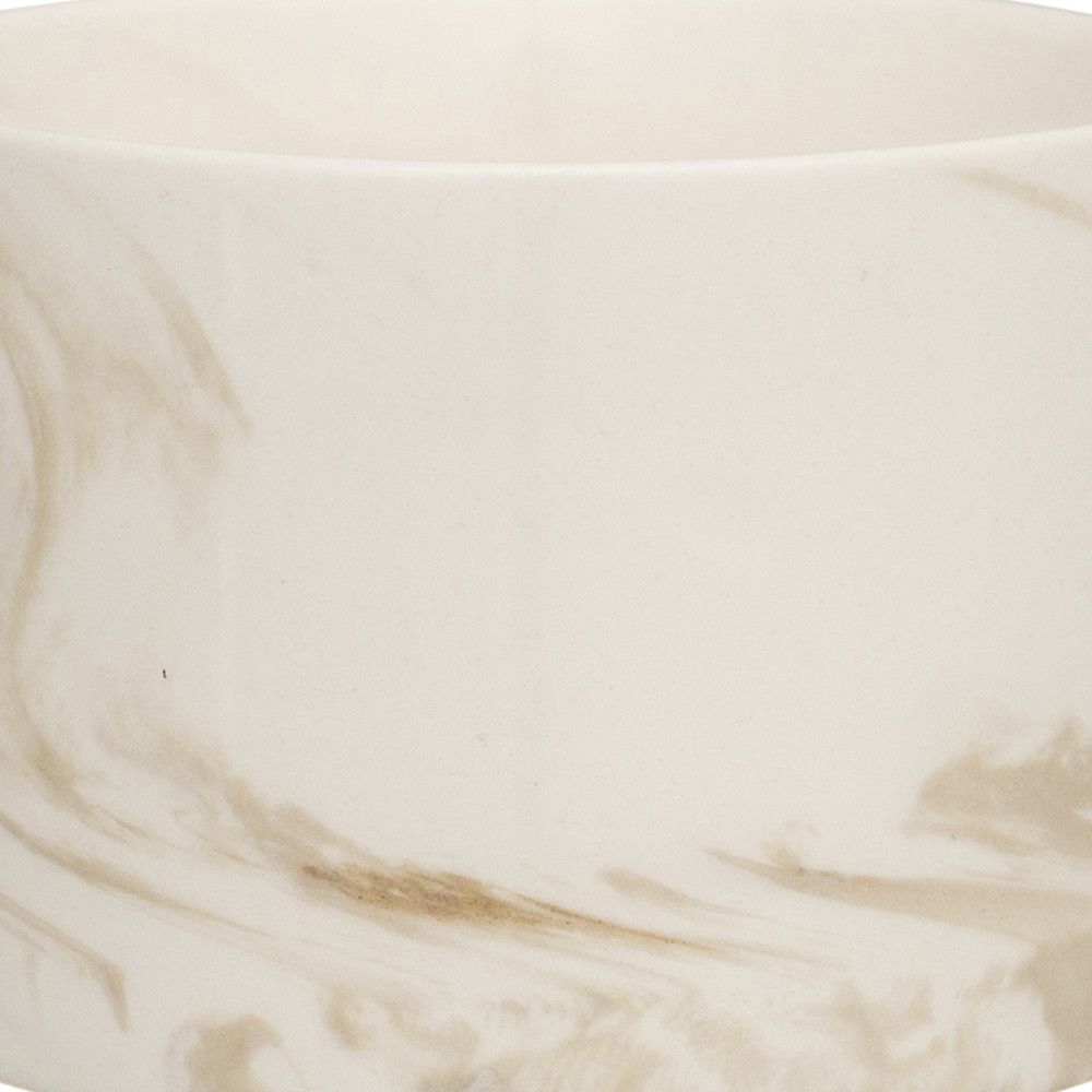 Swirl Marble by Blisshome - Marble Mug - Stone