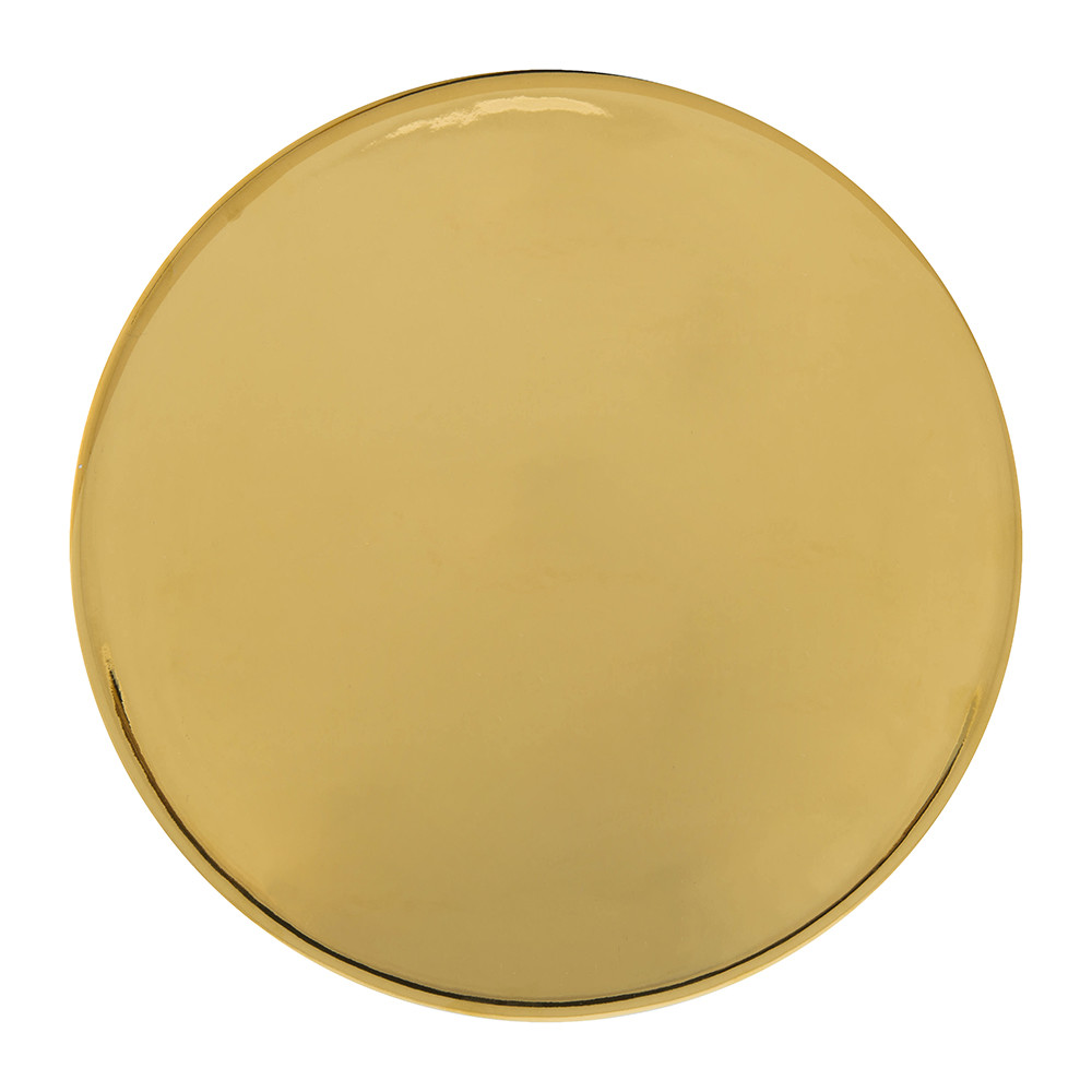 Canvas Home - Dauville Charger Plate - Gold