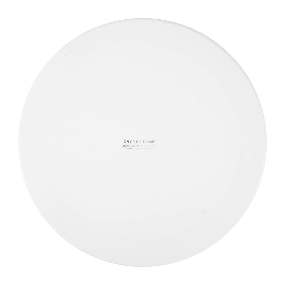 Canvas Home - Dauville Charger Plate - Platinum