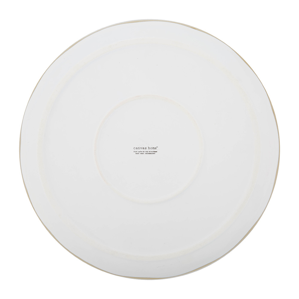 Canvas Home - Dauville Dinner Plate - Gold