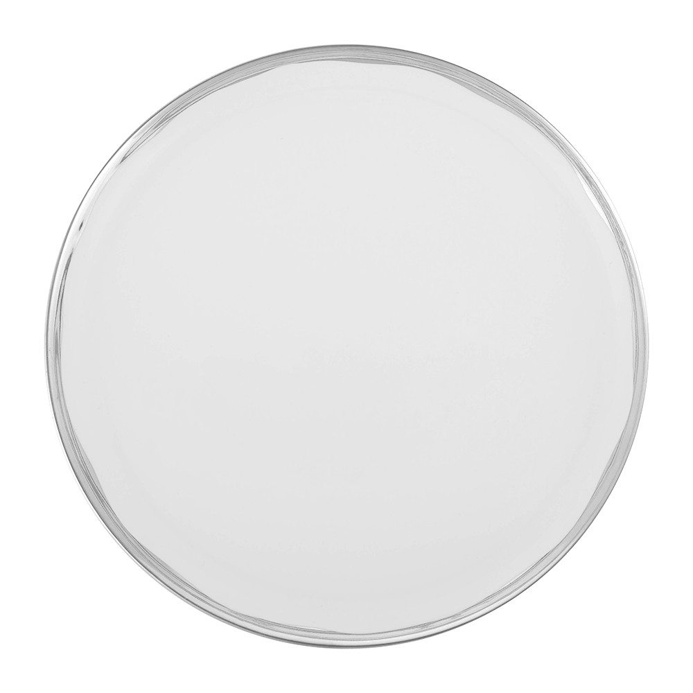 Canvas Home - Dauville Dinner Plate - Platinum
