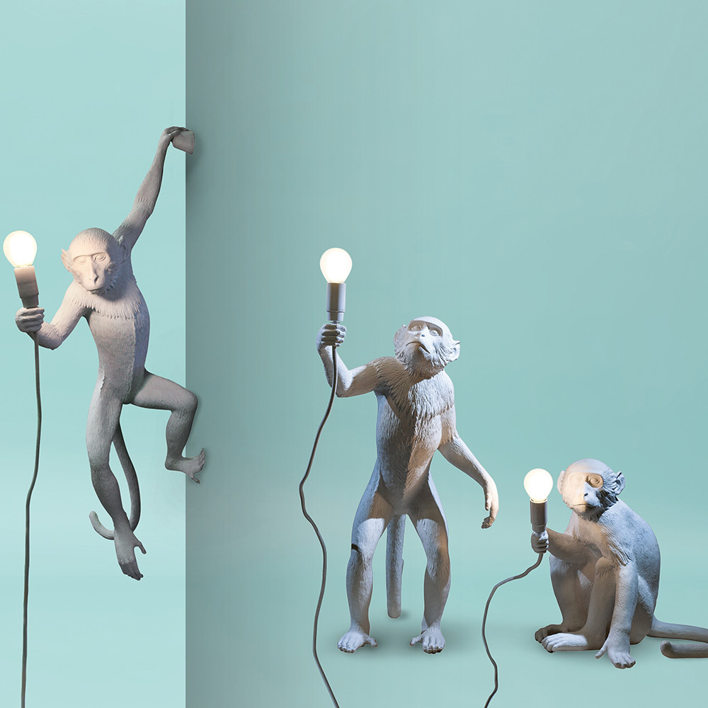 Buy Seletti Monkey Lamp Hanging Amara