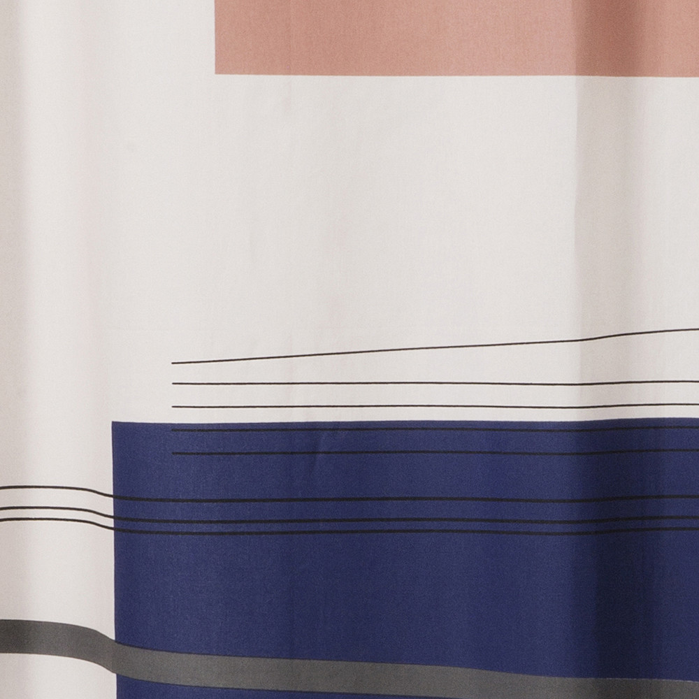 Buy Ferm Living Color Block Shower Curtain