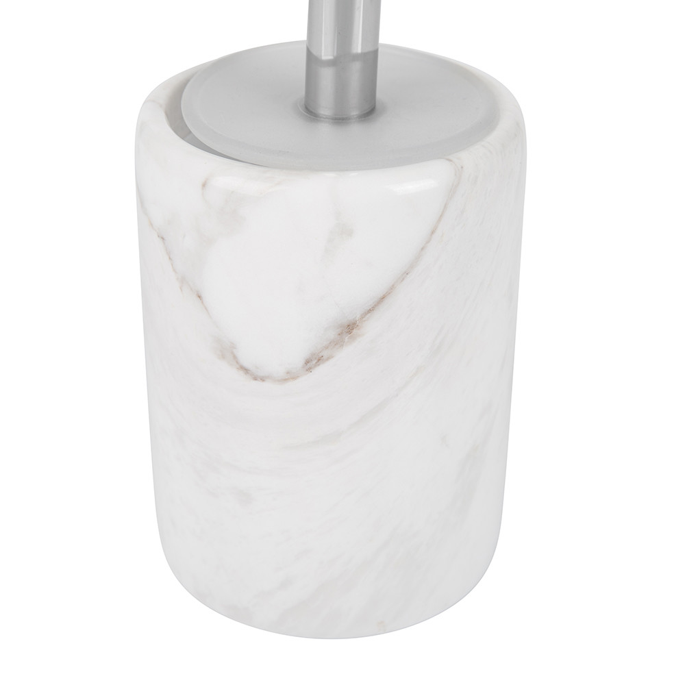Buy moeve stone marble toilet brush amara for Marble toilet accessories