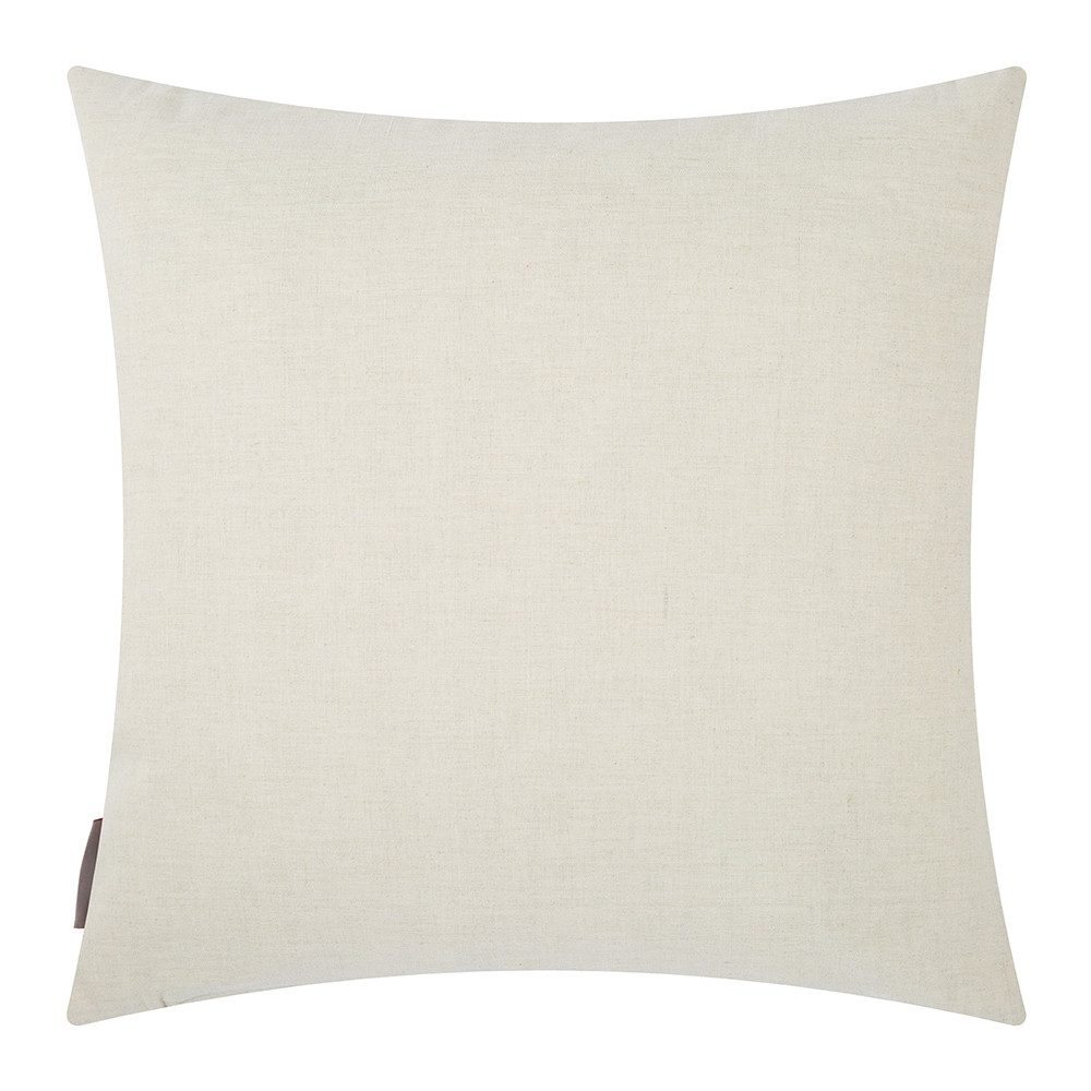 Clarissa Hulse - Seed Heads Pillow - 45x45cm - Natural/Wine