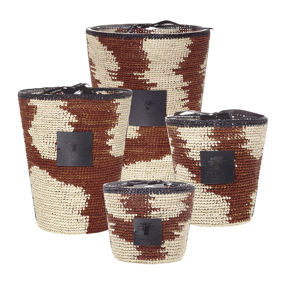 Baobab Collection - Mikea Scented Candle - Mena Hazo - 35cm