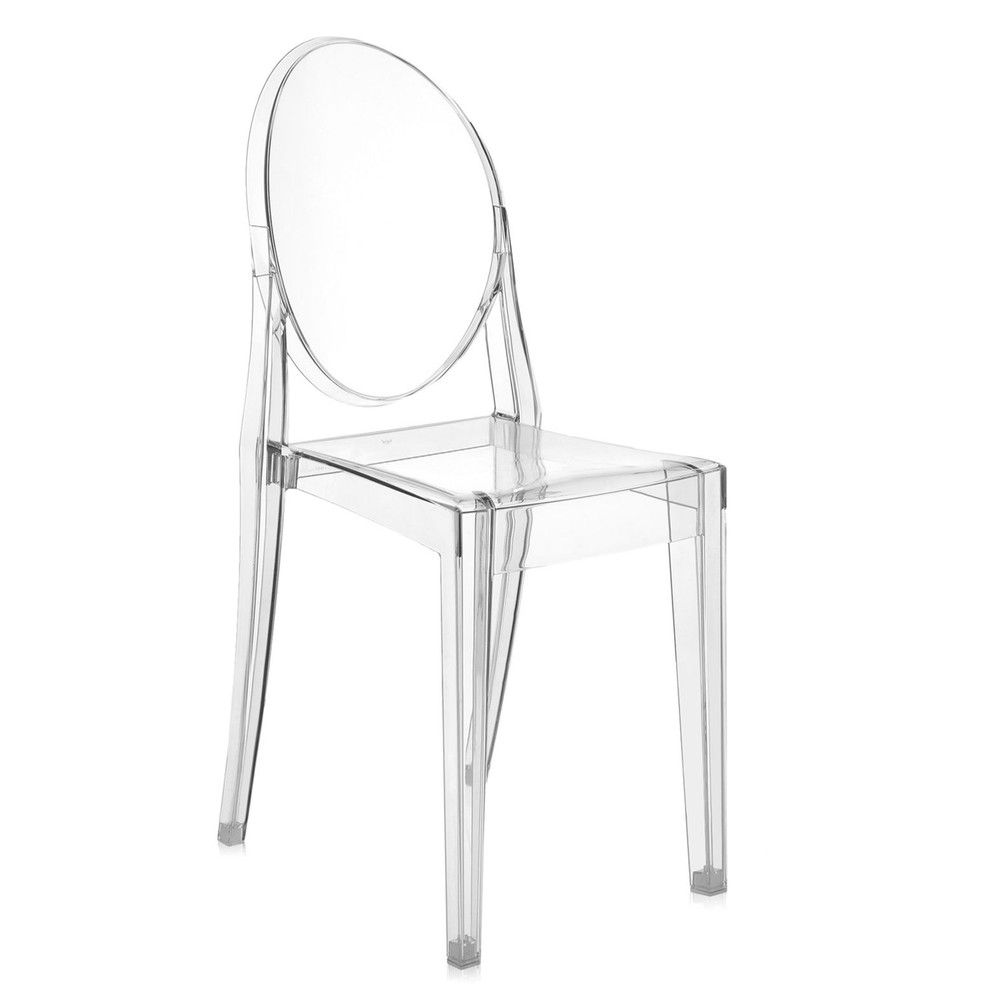 Kartell - Victoria Ghost Chair - Crystal