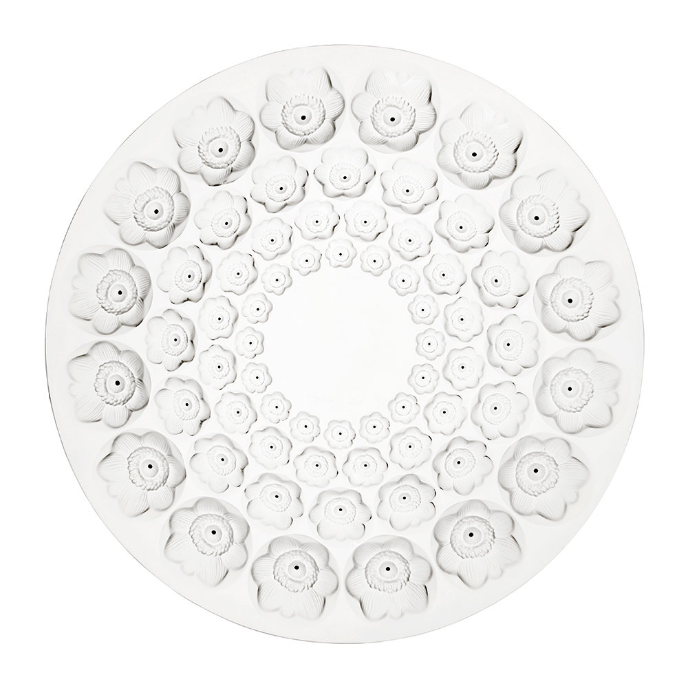 Lalique - Anemones Bowl - Clear