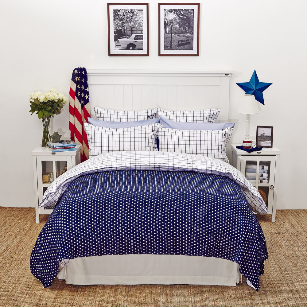 Buy Lexington Icons American Country Pinpoint Check Duvet