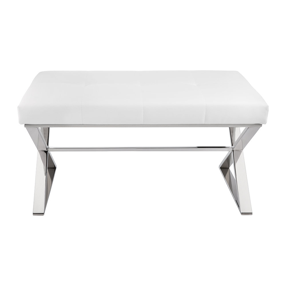 White Bench Seats 28 Images Wooden Bench White Leather