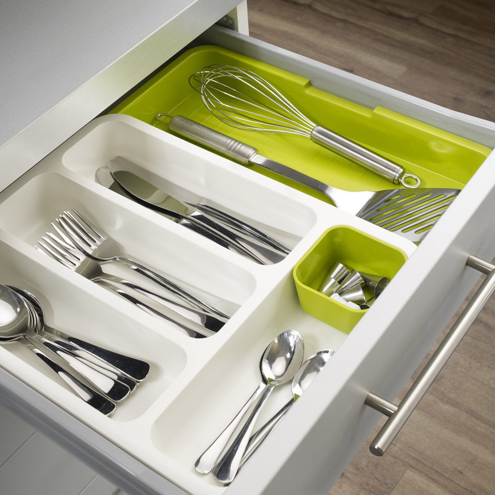 Joseph Joseph - Drawer Store - White/Green