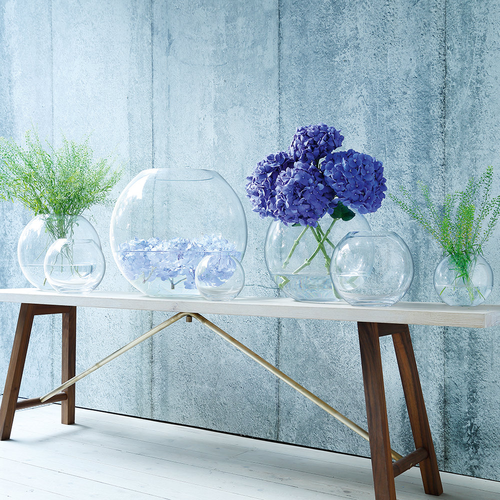 LSA International - Globe Vase - Clear - 16cm