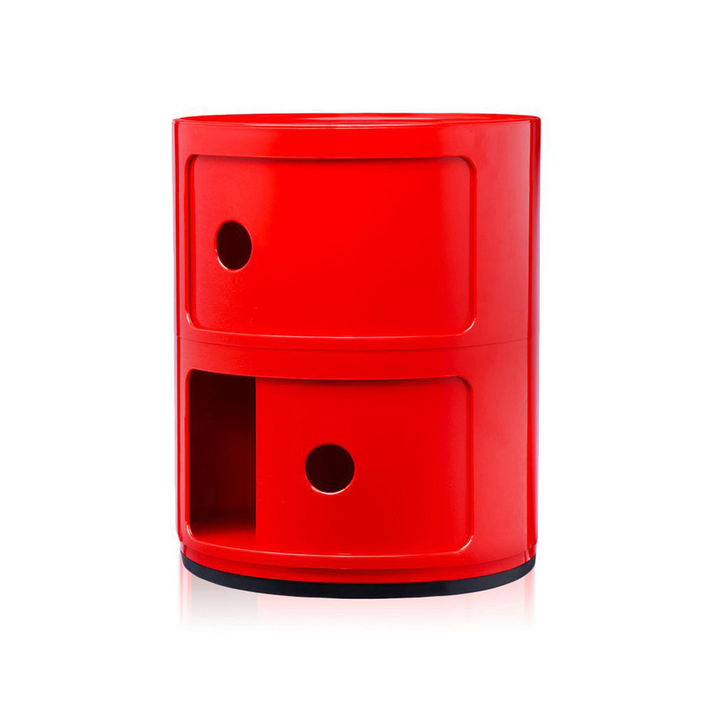Kartell - Componibili Storage Unit - Red - Small
