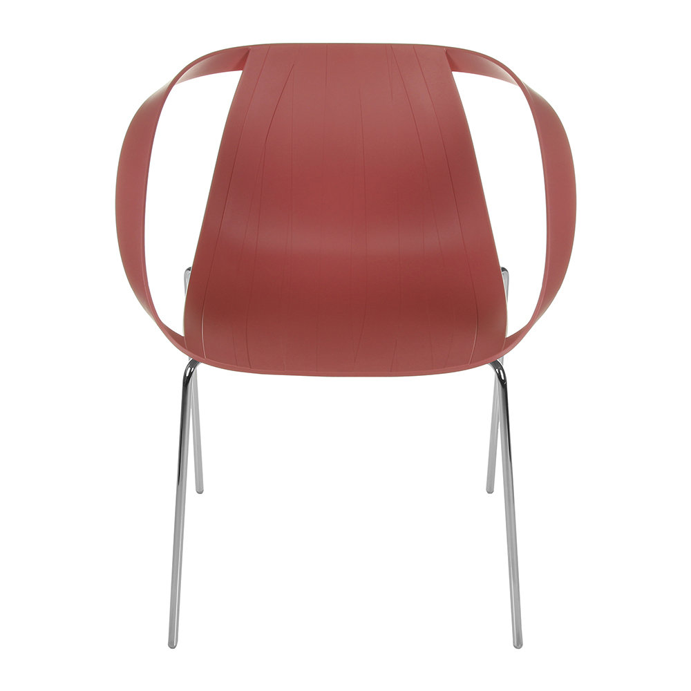 Moroso - Impossible Wood Chair - Indian Pink