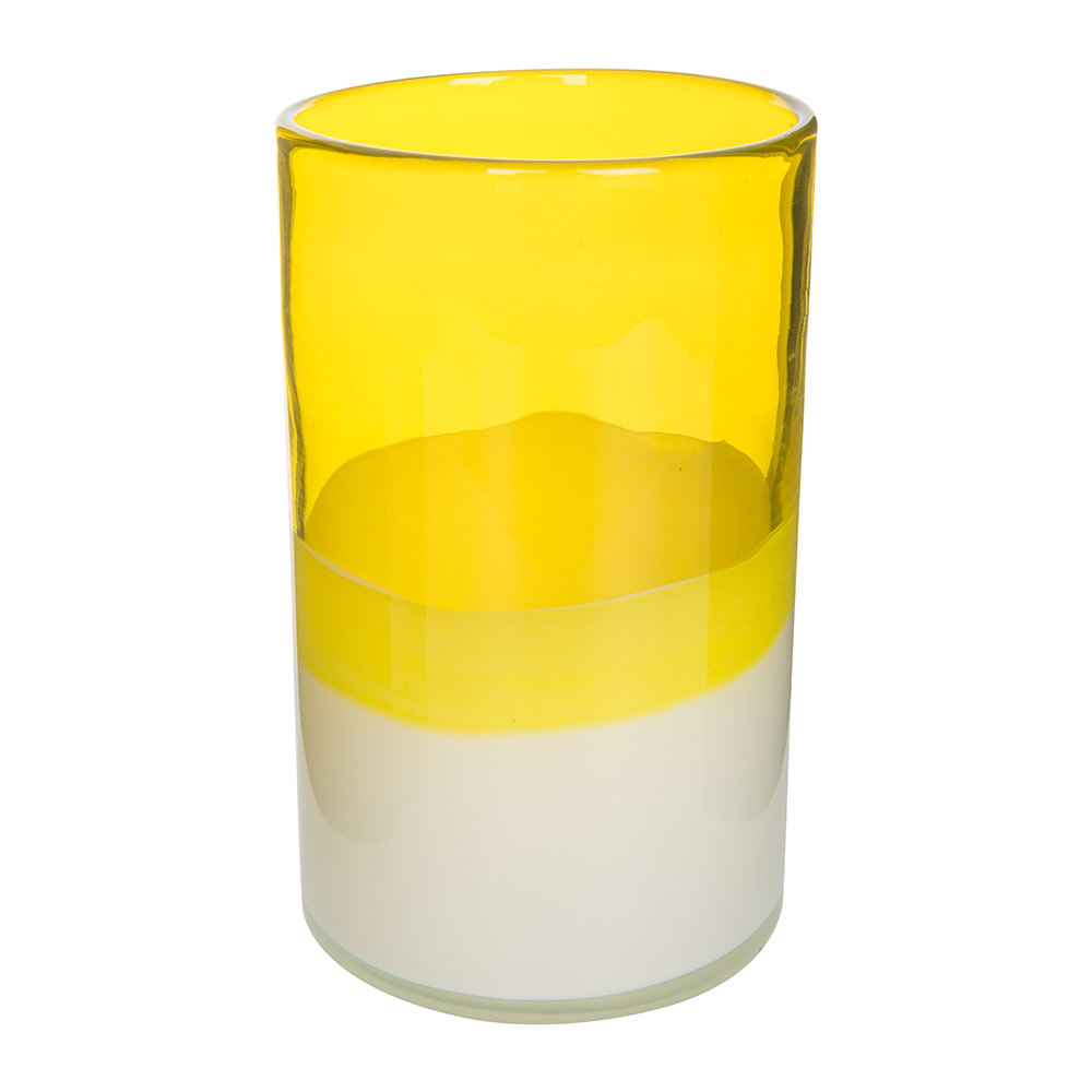pols potten layers vase yellow small gay times uk. Black Bedroom Furniture Sets. Home Design Ideas