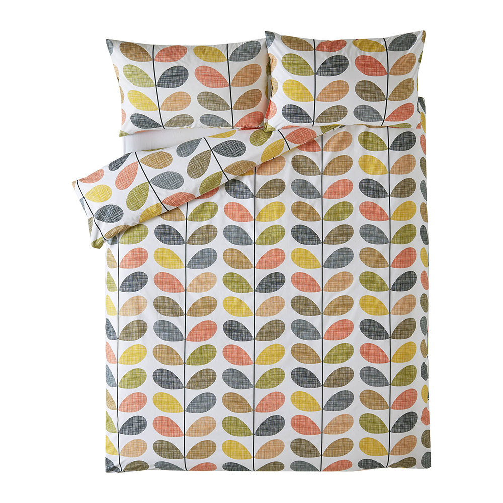 Buy Orla Kiely Scribble Stem Duvet Cover Multi Double