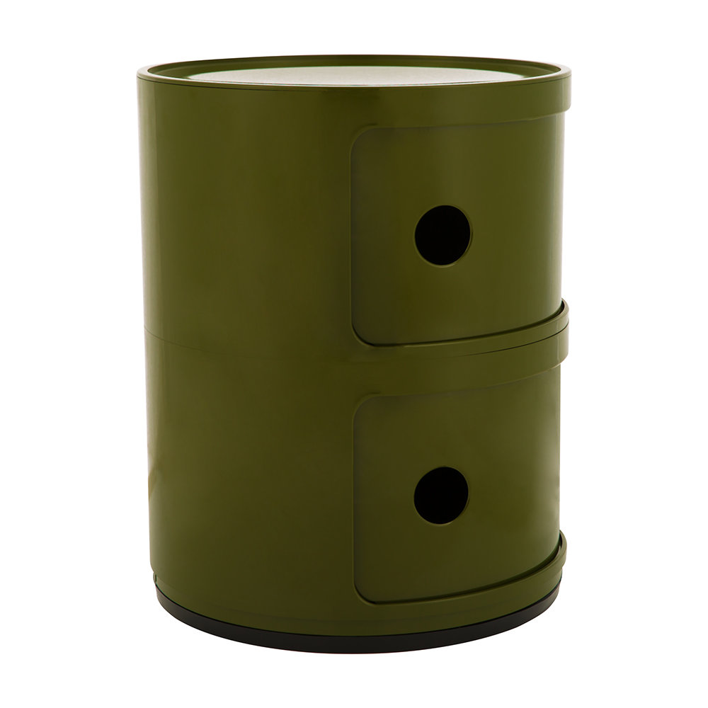 Kartell - Componibili Storage Unit - Green - Small
