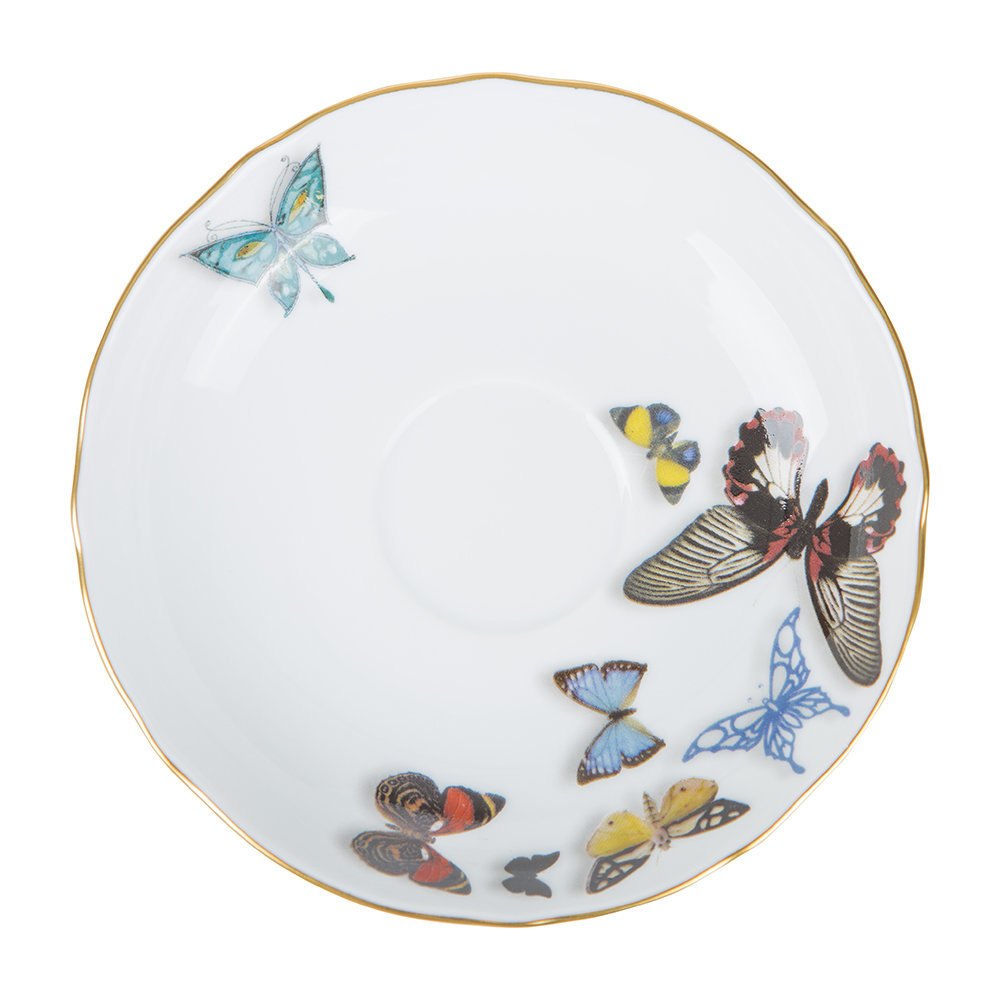 Christian Lacroix - Butterfly Parade Teacup & Saucer