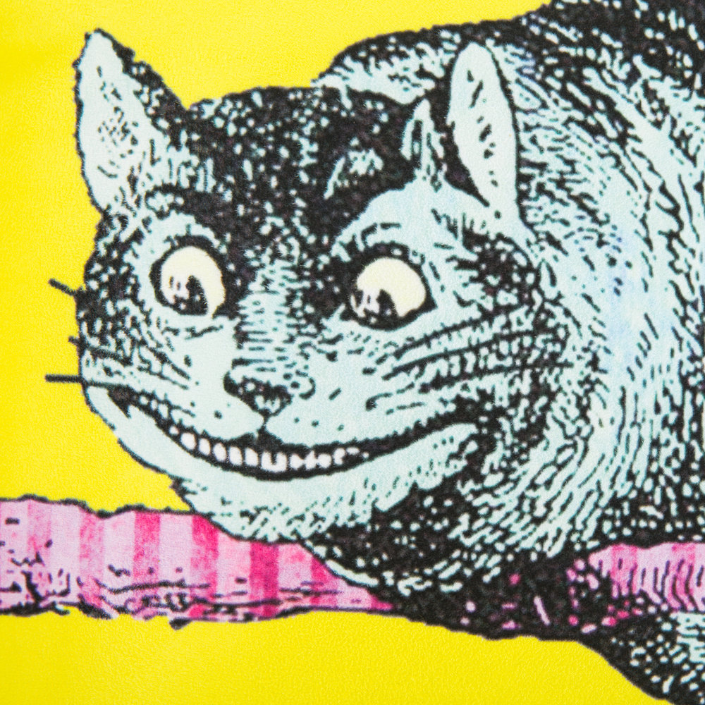 Mrs Moore's Vintage Store - Alice In Wonderland Pillow - Cheshire Cat