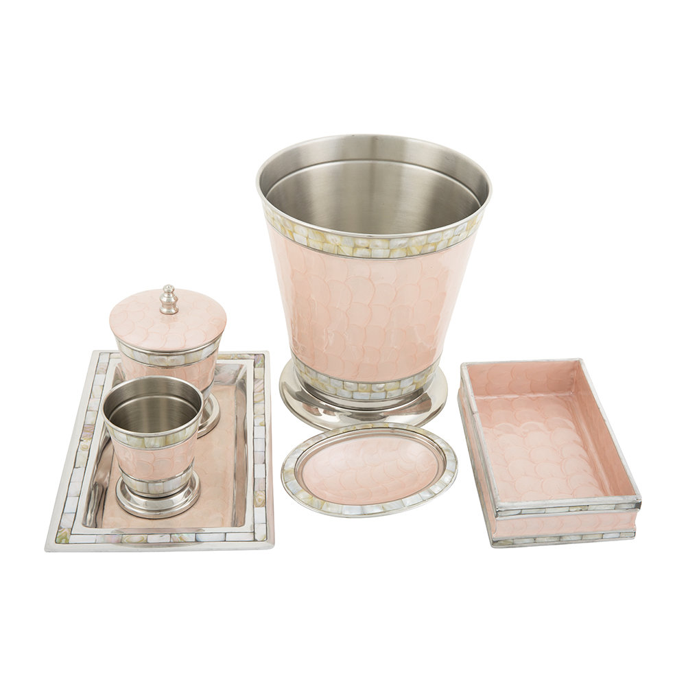 Julia Knight - Classic Covered Canister - Pink Ice