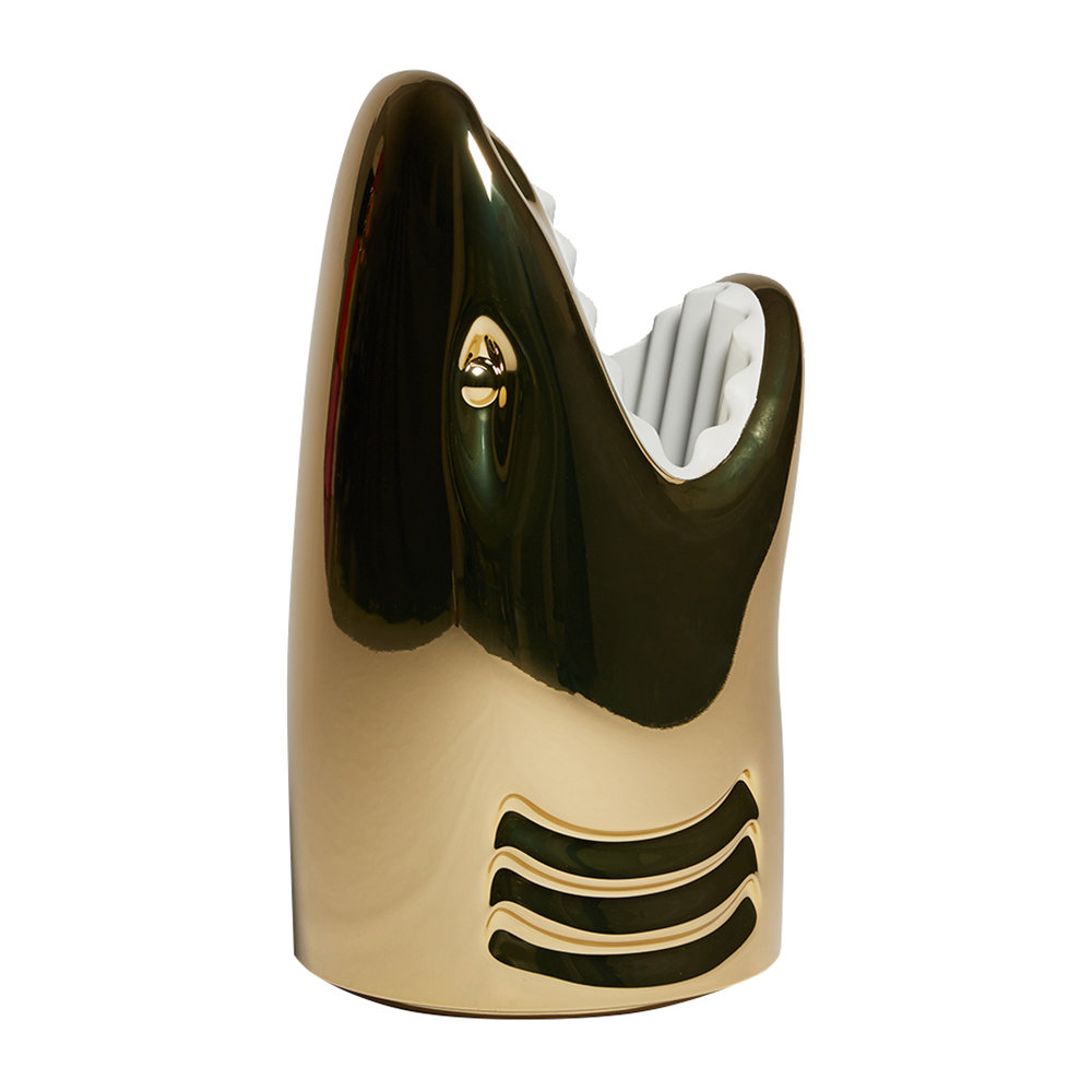 Qeeboo - Killer Umbrella Stand - Metallic Gold