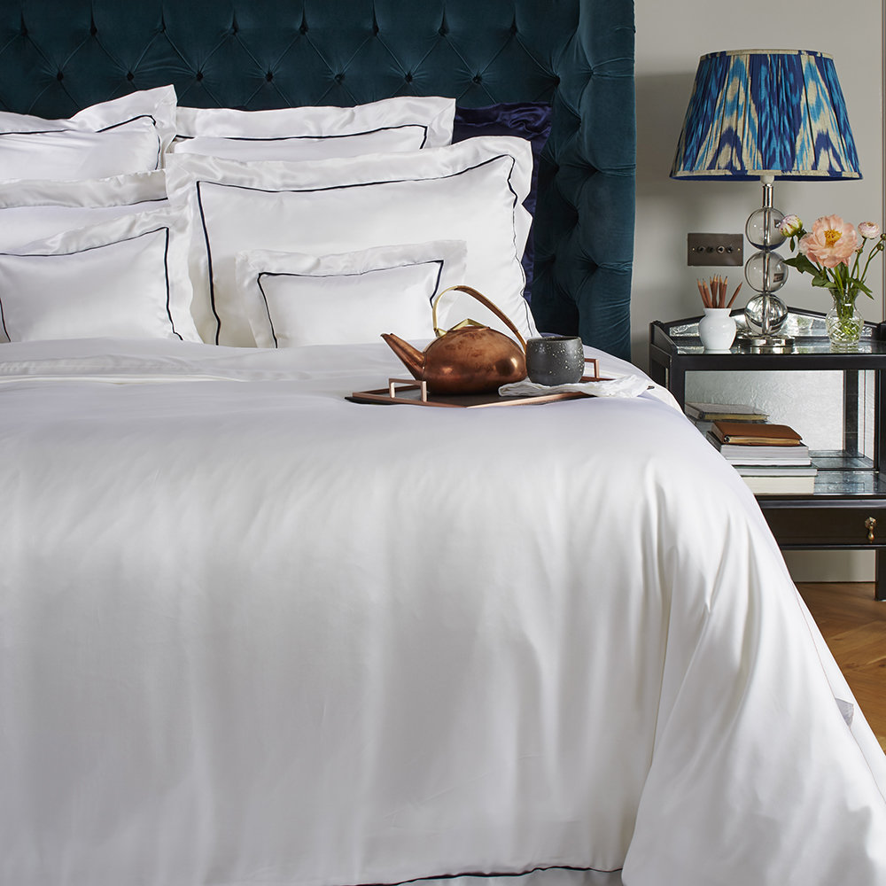 Gingerlily  St Tropez Silk Duvet Cover  King